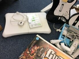 Nintendo Wii White Console Bundle No Games (Make me an offer)