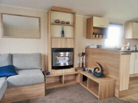 Static caravan for sale at Trecco Bay