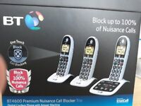 BT CORDLESS PHONE BT4600 BIG BUTTON