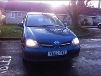 £350 2002 Nissan Almera Tino 1.8 petrol Only 86 k miles Drives like new Bargain £350