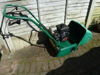 Suffolk Punch 14SK Lawnmower Petrol cylinder With Grass Box Fully Working