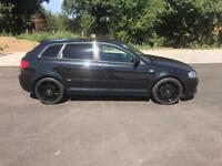 Audi A3 sline sport back