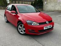 VW GOLF 1.6 TDI MATCH BLUEMOTION RED