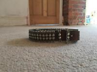 Women's jigsaw belt