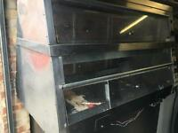 Hot chicken display oven