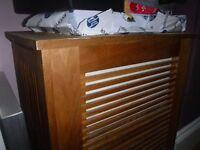 slatted box storage unit ikea
