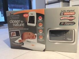 Tommee Tippee Closer to Nature Digital Video Monitor with Movement Sensor Pad.
