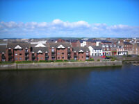 Lovely 2 Bed Flat overlooking River Ayr - £560pcm Avail from 25/1/18