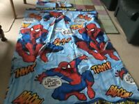 Spider man duvet cover and pillowcase