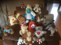Teddy Bears selection of approx 16. Varying condition but some with new labels still attached.