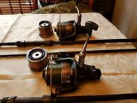 Fishing rods,reels,