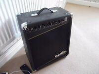 Gorilla GG 110 150Watt Guitar Amp. Combo with Reverb.