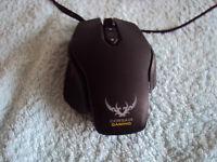 Corsair Gaming M65 RGB Laser Gaming Mouse PC 8200DPI Black