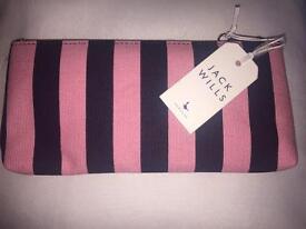 New Jack Wills Make Up Bag / Pencil Case / Purse
