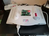 AMSTRAD GX4000 RETRO CONSOLE AND SD CARD DRIVE