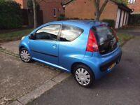PEUGEOT 107 Urban 2006 - 1.0L Petrol - Manual 3 Door Hatchback - Blue