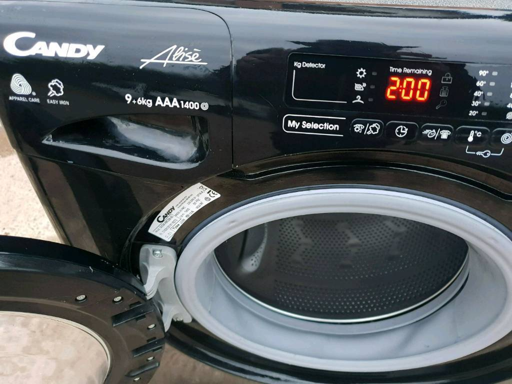 Candy Alise Smart Touch 9 6kg Washer Dryer Washing Machine In