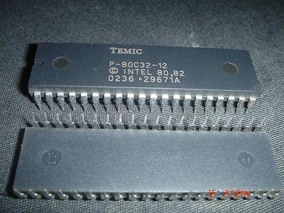 - TEMIC P-80C32-12 DIP40 CMOS 0 to 44 MHz Single-chip 8 Bit USA ship