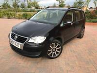 2009 Volkswagen Touran S TDI 1.9 1 Owner From New PRIVATE PLATE 7 SEATS