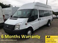 Ford Transit 2.2 TDCI 135 EL LWB 17 SEAT H/R
