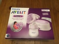 Philips Avent Single Electric Natural Breast Pump- great condition