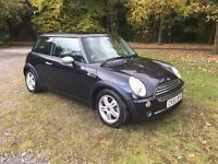 Mini Cooper 2005 (55) 1.6, black, 1 former keeper, just serviced, 2 keys, LOVELY CAR