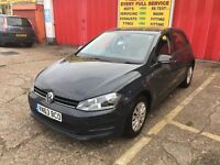 2013 VW GOLF 1,2 PETROL AUTOMATIC , ONLY DONE 61,000 GENUINE MILES