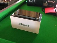 iPhone 4 - Black - 16GB - great condition