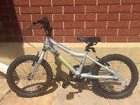 Ridgeback MX16 children's bike - silver
