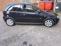 Vauxhall Corsa black 1.2 sxi 2006 cheap bargain