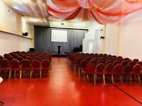 250 -SEATER-SHARED CHURCH HALL/COMMUNITY ACTIVITY SPACE
