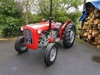 Massey Ferguson 35x November 1962 + MF60 Mower