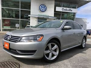 2013 Volkswagen Passat CL/SUNROOF/BLUETOOTH/1 OWNER!
