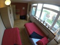 Available Twin Rooms and Single Around London, Bills, WiFi, Cleaning Service, Maintenance Included!