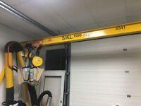 1t A-frame gantry with chain hoist