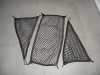 Genuine Mini Cooper cargo nets.