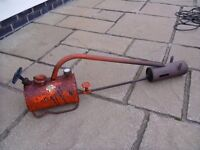 FLAME THROWER FOR GARDEN USE