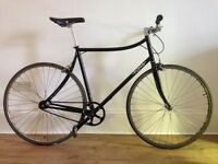 Single Speed Steel Frame City Bike - Foffa Ciao - Original components with customised handle bar