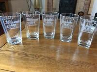 Glass wear (Tullamore Dew Irish whisky)