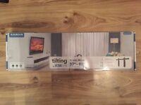 "NEW: Sanus Ultra Thin 37"" – 80"" TV Wall Mount with Tilt"