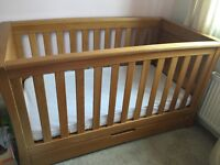 Mamas and papas ocean furniture golden oak.
