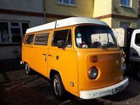 1977 2L Dry Golden Westfalia VW Campervan