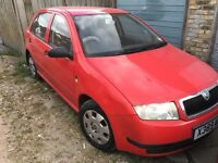 Skoda fabia cheap petrol car 1.4 petrol 5 doors