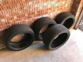 """4x Mercedes CLS W219 18"""" tyres – very good condition"""