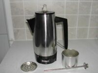 Sona Stainless Steel Coffee Percolator