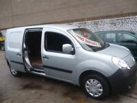 Renault KANGOO Maxi LL DCI,LWB panel van,twin side loading doors,1 owner,nice clean tidy van