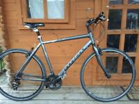 "Adults Ridgeback Hybrid bike. 22"" extra large. working"