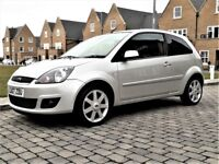 2007/07 FORD FIESTA 1.25 ZETEC CLIMATE 3dr FULL MAIN AGENT HISTORY