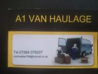 any item delivered that will fit in a van from £20