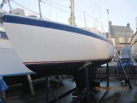 Albin Vega 27 cruising sailing boat yacht
